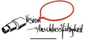 Die Vision ist ein attraktives, gemeinsames Bild der Zukunft - und erzeugt Identifikationswirkung